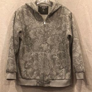 Quicksilver boys fleece lined sweatshirt